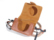 Newest Retro Style Leather Camera Case Bag with Strap for Sony RX100