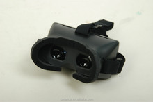 2015 best New Hot product! New head mount plastic version 3D Virtual reality video glasses Google cardboard
