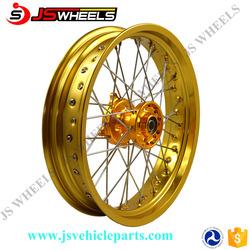 Dirt bike Motorcycle Aluminum Alloy wheels for RMZ 250 450 DRZ400E