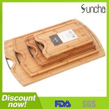 Eco-Friendly Strong Bamboo Wood Cutting Board/ Cutting board set
