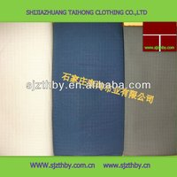 Cotton blue navy plaid fabric for army garment