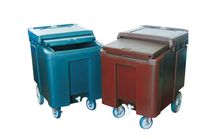 cold insulation ice trolley trolly