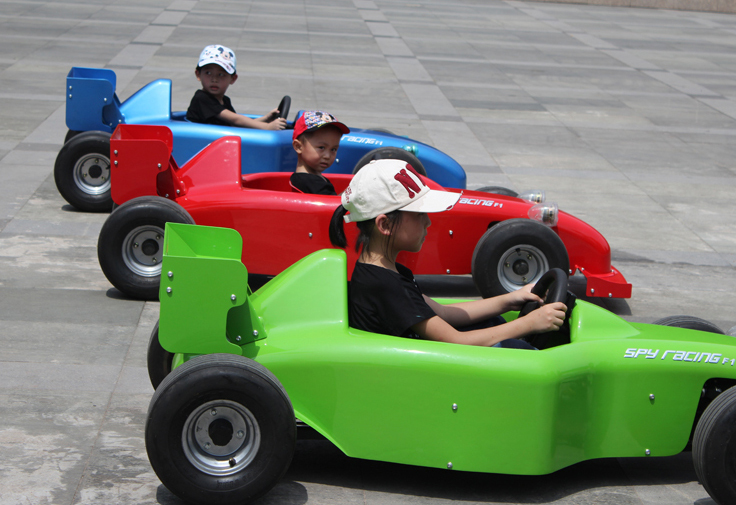 Battery Electric Go Karts Real Racing Car For Kids Buy