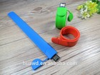 2015 projeto engraçado pulseira de silicone usb 2.0 flash drive alibaba china