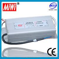 LPV-60 waterproof led power supply 60w dc24v 12v power supply