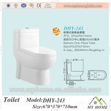 High quality European types ceramic wc one piece toilet