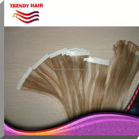 P Color Skin Weft Hair Extension