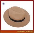 Nft006 / lã de alta qualidade sentiu homem chapéu / lã aba larga chapéu de feltro chapéu de lã