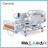 Hospital adjustable chair position three functions electric nursing bed