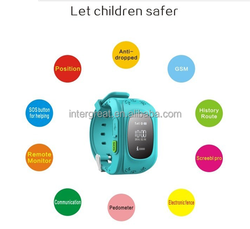 Waterproof kids gps tracking watch/ GPS Tracking Device / Wrist watch gps tracking device for kids