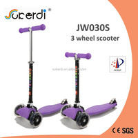 new fashion sport made in china micro maxi foot push kids 3 wheel scooter