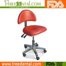 Tr-015 dentale studio medico sgabelli sgabelli assistant's regolabile mobile sedia pu usato sedie dentista