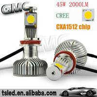45w cree car led headlight h4/h7/h11/h8/9005/9006 2000 Lumen,car led light,led car headlight