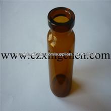 botellas viales de vidrio crystal medicina/Antibiótico frasco de cristal de la botella de pequeño volumen