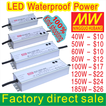 HB HLG 120W 36V Waterproof led power supply Meanwell led driver