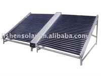 non pressure solar collectors for commercial solar water heater use