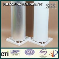 Good sticky! Aluminum wall composite cladding Synthetic rubber pressure sensitive adhesive Natural Plain Aluminum Foil Cladding