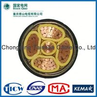 Good Quality PVC/XLPE Insulation Power Cable, copper types of underground cables
