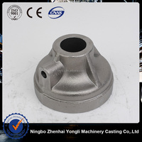 Special connecting of machinery ductile iron casting,tawil grooved ductile iron fitting end cap