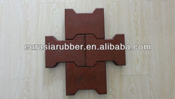 Dog bone rubber slab