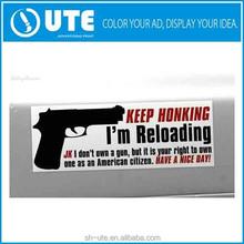 Custom Funny Car Bumper Window Vinyl Sticker Decal