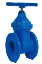 DIN 3352-F4 Non rising stem resilient soft seated gate valve (ductile iron gland)
