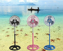 for South-American market guangzhou factory 110v 220V Plastic mini 10 inch 12 inch metal fan