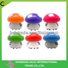 Mushroom hand held desk mini vacuum cleaners/ mini desk cleaners