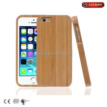 Fast delivery time Handmade Hight Quality Bamboo Cell Phone Case for Iphone6/5s