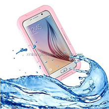 Waterproof Shockproof SnowProof DirtProof Durable Cover Hard Case for Samsung Galaxy S6/S6 Edge