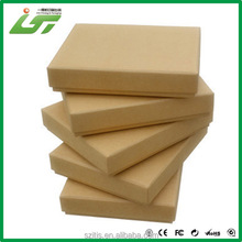 customized recycled brown kraft paper box manufacturer