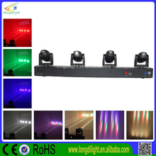 4x10w moving head led,RGBW 4 in 1 led moving head sharp beam dj light