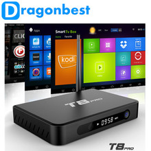 Metal Quad Core Android 5.1 Tv Box T8 Pro With Kodi 16.0 Fully Loaded 2Gb 8Gb Duan Band Wifi Better Than T8 Android Tv Box