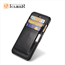 Genuine Leather Wallet Case For Apple iPhone 6 / Plus,Flip Leather Case For iPhone6 With Card Slot