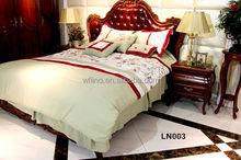 Embroidery 8pcs quilt/duvet/comforter set