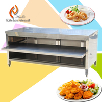 high end knock down Handmade free standing SS Cabinet for kitchen equipment European style