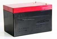 rechargeable 12 volt LIBAN lead acid battery 6-DZM-12