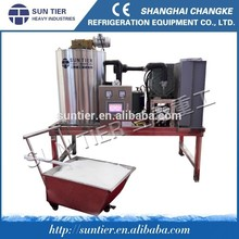 SUN TIER hot sale big food truck for bar and industry flake ice maker
