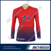 Oem breathbale long sleeve rugby shirts/jersey online shop
