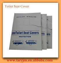 100% Virgin Pulp 1/16 Fold Disposable Paper Toilet Seats Cover Travelling Use