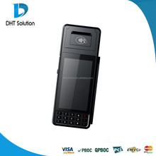 Handheld pos terminal with android 4.2 OS, printer and magnetic card reader,EMV&PCI Certified,barcode scan engine