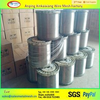 Anping Xinkaixiang brand Top quality stainless steel piano wire,0.13mm stainless steel wire,stainless steel wire