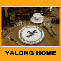 Royal Classic Decoration Ceramic Dinner Set for Party