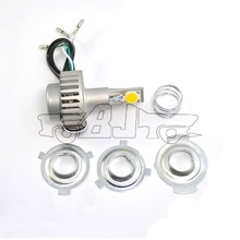BJ-HL-001 Aftermarket 18W High 12W Low LED amber led headlight for bajaj 150cc pulsar motorcycle
