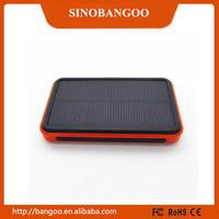 External Battery Solar Charger Powrbank 12000mah For Smart Phone