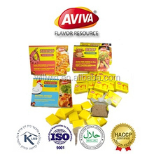 4g, 5g,10g Bouillon Cube within peptide Chicken Beef Shrimp More Flavour Halal stock soup cubes[AVIVA CUBES]