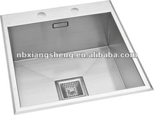 square sink / metal sinks / sink in kitchen room