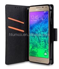 Newly design premium shell,PU case,practical case for Samsung Galaxy Alpha