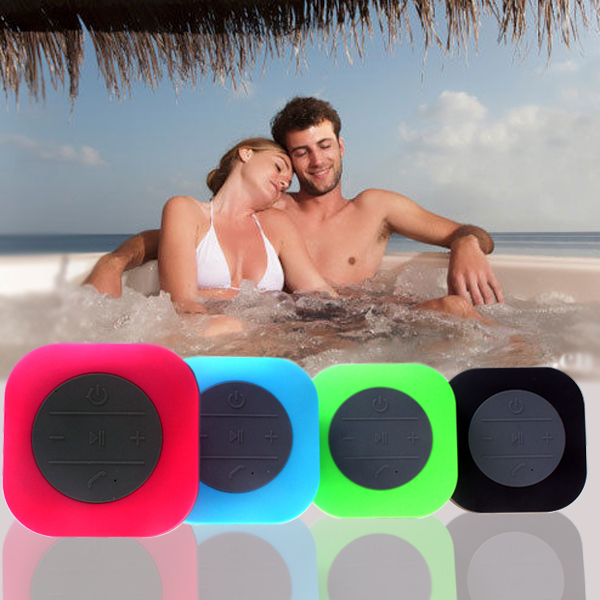 2015 hot sell made in china mini waterproof bluetooth speaker, speaker bluetooth with led light, portable bluetooth speaker