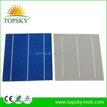 156x156mm polycrystalline solar cell 4w high efficiency 15%-17.2%